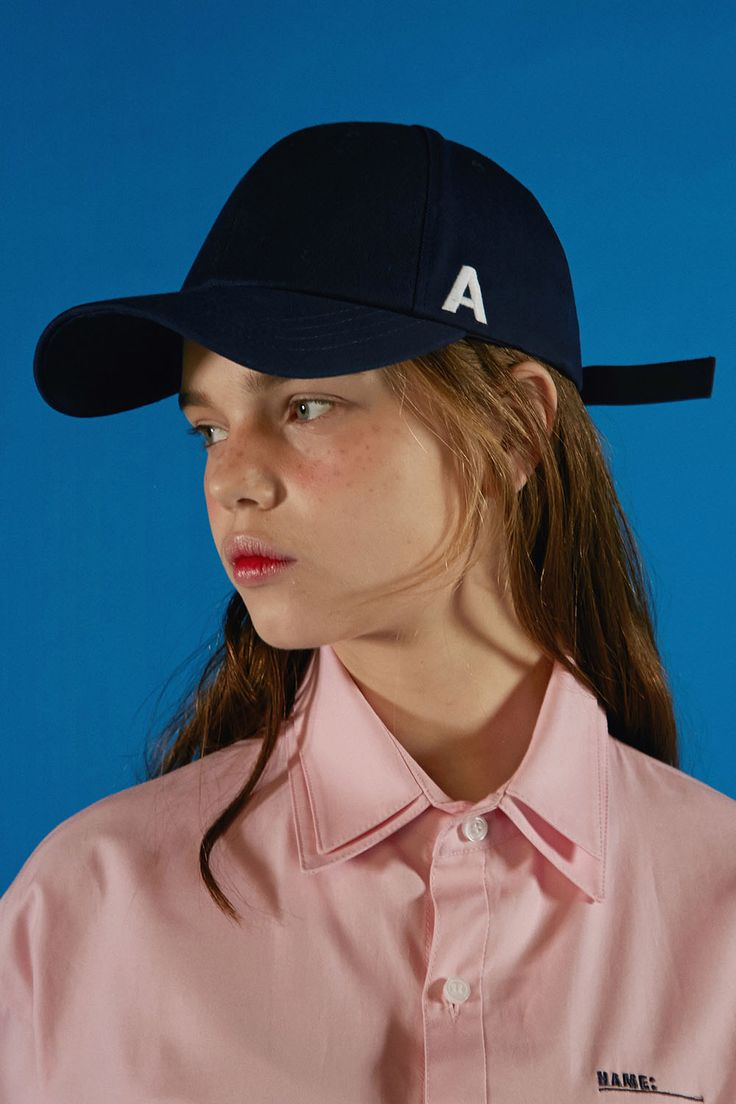 A cap navy  #ader #fashion #brand #cap #white #accessory #buckle