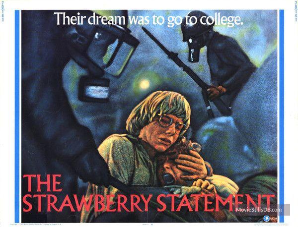 The Strawberry Statement - Lobby card with Kim Darby & Bruce Davison