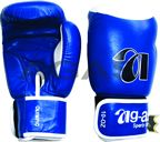 Boxing Gloves in High Quality Genuine Leather.   Made of cowhide Leather with extra thick Latex Padding, leather strap with Velcro Fastener.  Best for top training, every   Day sparring and competition. Stock available in Red and Blue colour only with all  sizes (10, 12, 14 & 16 oz).  http://agasi-martialarts.com/Boxing-Glove.html