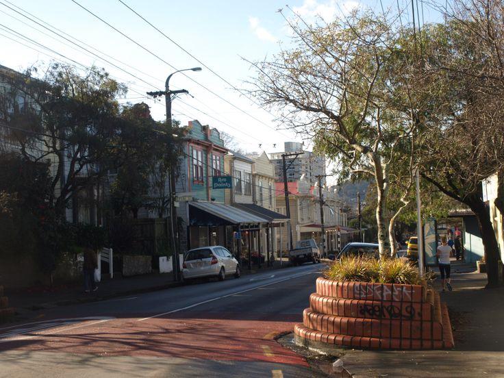 Wellington Street, NZ | Silvia Costanini