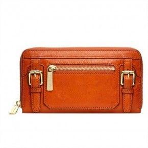 Michael Kors McGarw Orange Wallet
