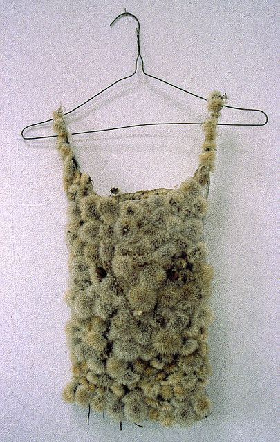 Thermal by Louise Richardson, floaty dandelion clock vest