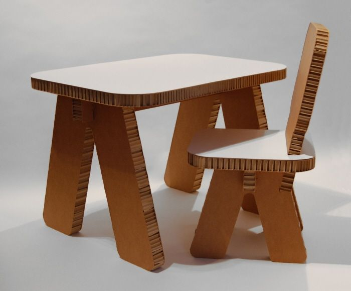 furniture made out of wood. child furniture made out of honeycomb cardboard 95 recycled material wood d
