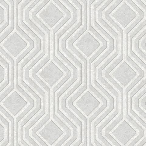 Holden Opus Wallpaper | Geo Sequins Grey | 35560