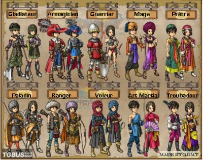 dragon quest 9 gladiator