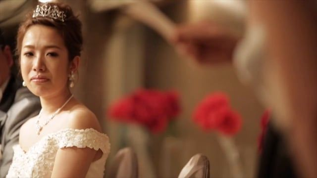 結婚式撮って出し飯田市ホテルシルク