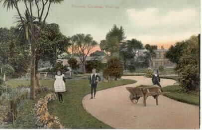Victoria Gardens, Prahran, ca. 1910.