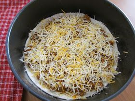 The Country Cook: Taco Bake {Mexican Pizza}