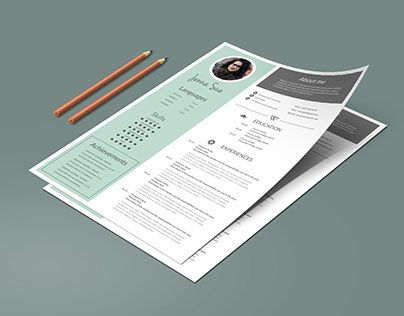 17 best Chic , modern resume \/ CV templates images on Pinterest - check my resume