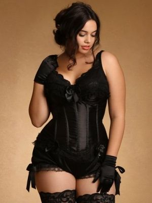 Our Bloomers with Lace and Bows have a gorgeous vintage feel when worn with a corset and t...-1XHSaFrt