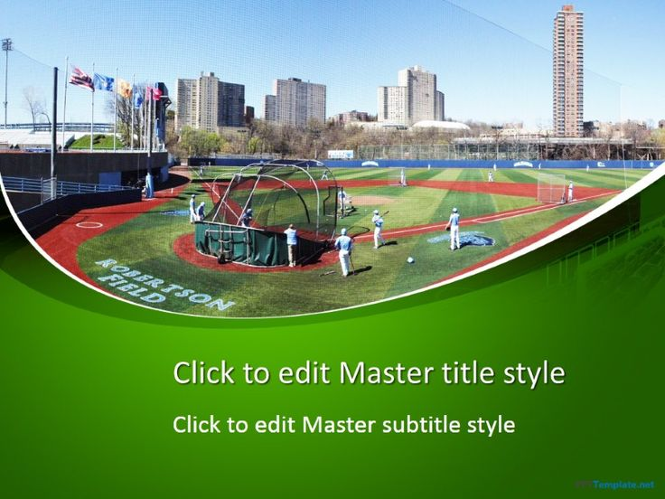 8 best sport ppt templates images on pinterest ppt template free free baseball field ppt template to honor the robertson field baseball powerpointtemplates toneelgroepblik Gallery