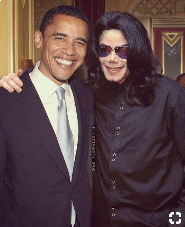 PRESIDENT OBAMA AND MICHAEL  JACKSON!!!