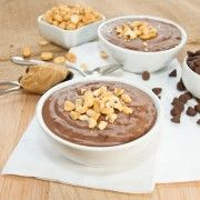 Chocolate-Peanut Butter Pudding {Sweet Pea's Kitchen}