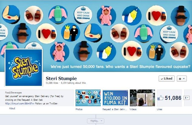 To celebrate Steri Stumpie http://www.facebook.com/steristumpie passing 50,000 Likes we turned some of our favourite posts from fans into cupcakes and distributed them to the most engaged community members.