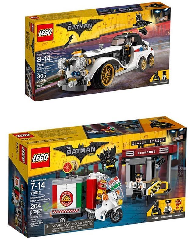Official images for two new Lego Batman Movie sets have been released including the Lego 70911 Penguin's Arctic Roller, and the 70910 Scarecrow Special Delivery! Who's excited for these sets?! #Lego #LegoBatmanMovie #Batman #New #BatmanMovie #LegoBatman #DCcomics #BrickShowTV