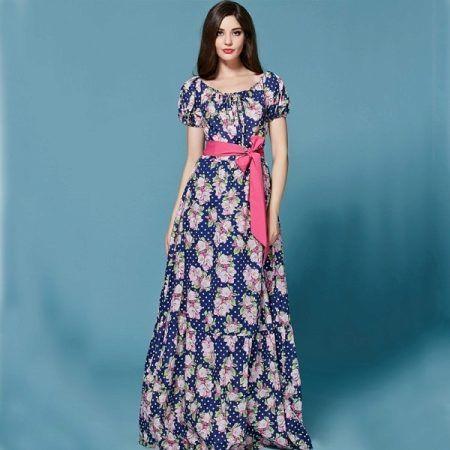 Длинные летние платья и сарафаны 2017 (85 фото): в полоску, для беременных, новинки, шифоновые, для полных девушек, модели