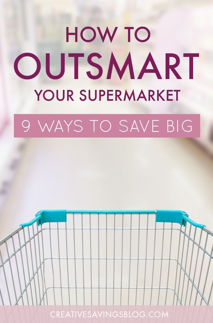 Grocery stores are designed to lure you into spending more than you originally planned. Which means, even if you try to shop smart, they'll use all sorts of tactics to outsmart you! I say it's time to turn the the tables on the grocery store and outsmart them instead. These nine tips explain exactly how to put more money in your pocket, no matter where you shop!