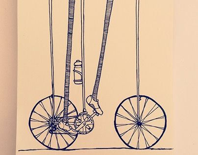 "Check out new work on my @Behance portfolio: ""imposible bike"" http://be.net/gallery/55152097/imposible-bike"