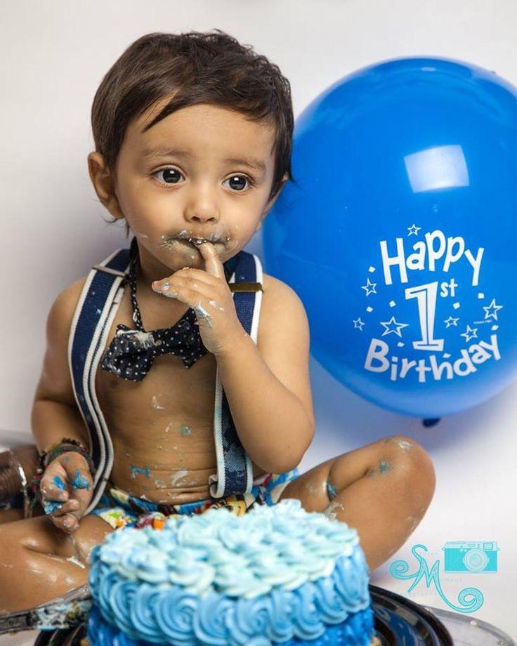 #yeg #cakesmash #firstbirthday