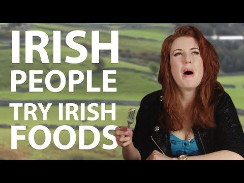 ▶ Irish People Try Stereotypical Irish Foods - YouTube, So funny