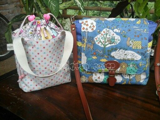 sling bag n lunch bag