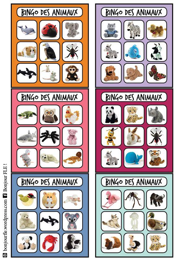Très Les 25 meilleures idées de la catégorie Cartes bingo sur Pinterest  QH47