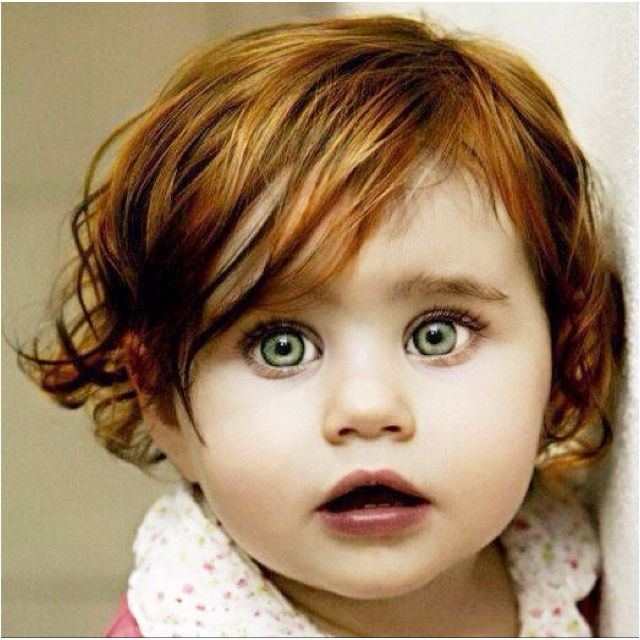 : Little Girls, Red Hair, Baby Girl, Children Wallpaper, Big Eye, Redhair, Green Eye, Beautiful Eye, Red Head