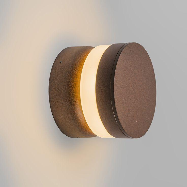 Wandlamp Tempest LED roestkleur