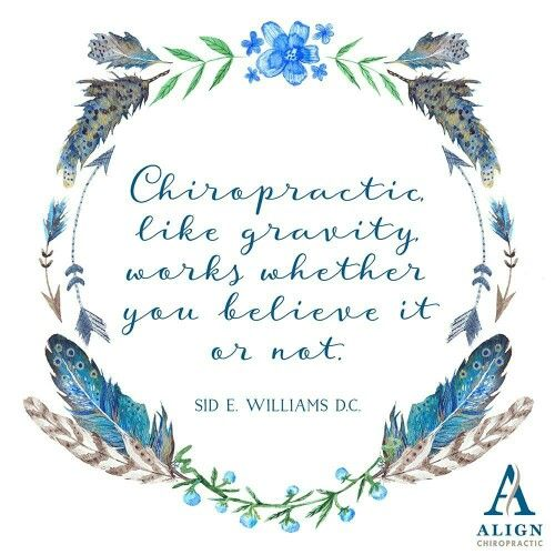 Chiropractic works!