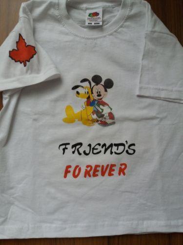 Camiseta Niño/a Micky y Pluto 3-4 años