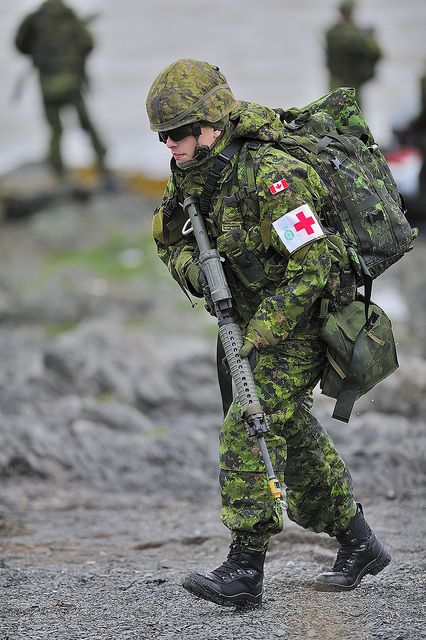 Infantry Medic by Canadian Army