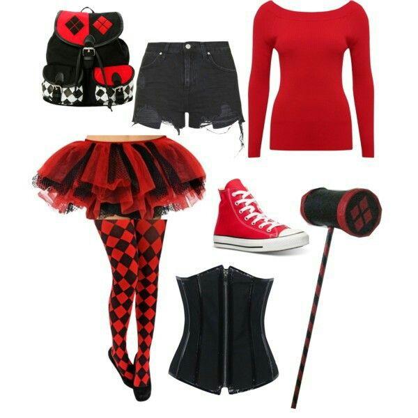 7 best harley quinn images on pinterest costume ideas halloween diy harley quinn ms solutioingenieria Images