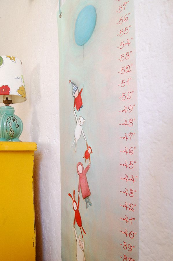 growth chart   The Coolest First Birthday Gifts