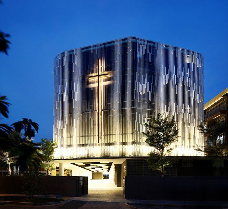 Imagem 6 de 16 da galeria de Igreja Metodista / K2LD Architects. Fotografia de Patrick Bingham Hall