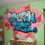 Inspirational Name For Graffiti Bedroom Wall Murals