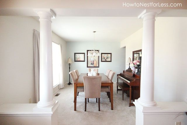 Erin of @How to Nest for Less used Sea Salt (SW 6204) in her dining room.: Decor, Sw Sea Salts, Framed Photos, Paintings Colors, Colors Crushes, Colors I, Photos Wall, Salts Sw, Frames Photos