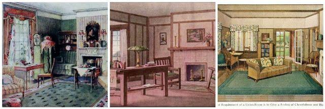 The Philosophy of Interior DesignEarly 1900s Part 3: Interior Decoration