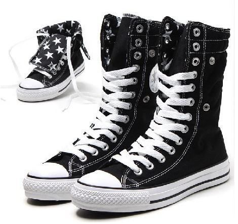 Chuck Taylor Knee High Converse | Converse Chuck Taylor All Star Knee Hi Black