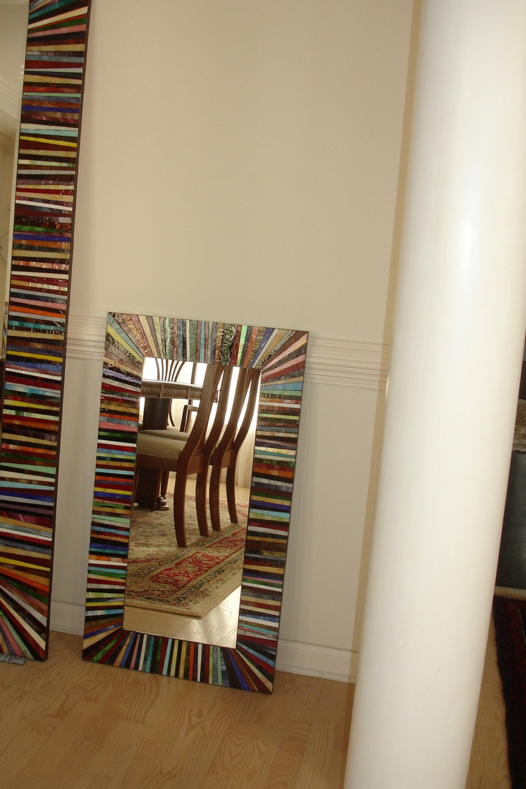 Mosaic Mirror, Small. $275.00, via Etsy.
