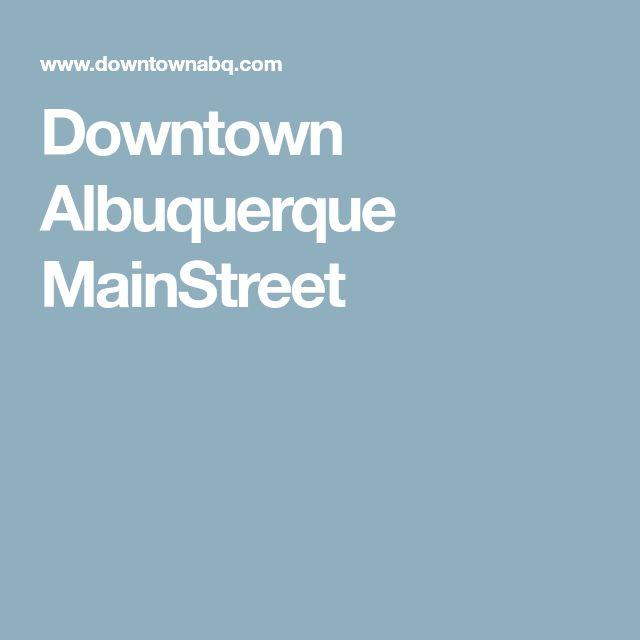 Downtown Albuquerque MainStreet