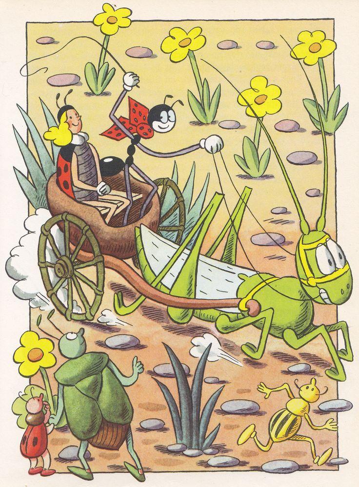 Ondřej Sekora / Die grossen Abenteuer des kleinen Ferdinand