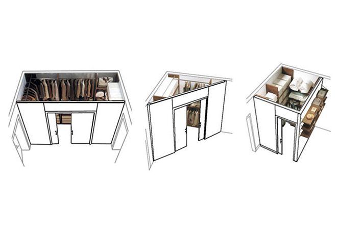 Oltre 25 fantastiche idee su cabina su pinterest for Costo per costruire un armadio in una camera da letto