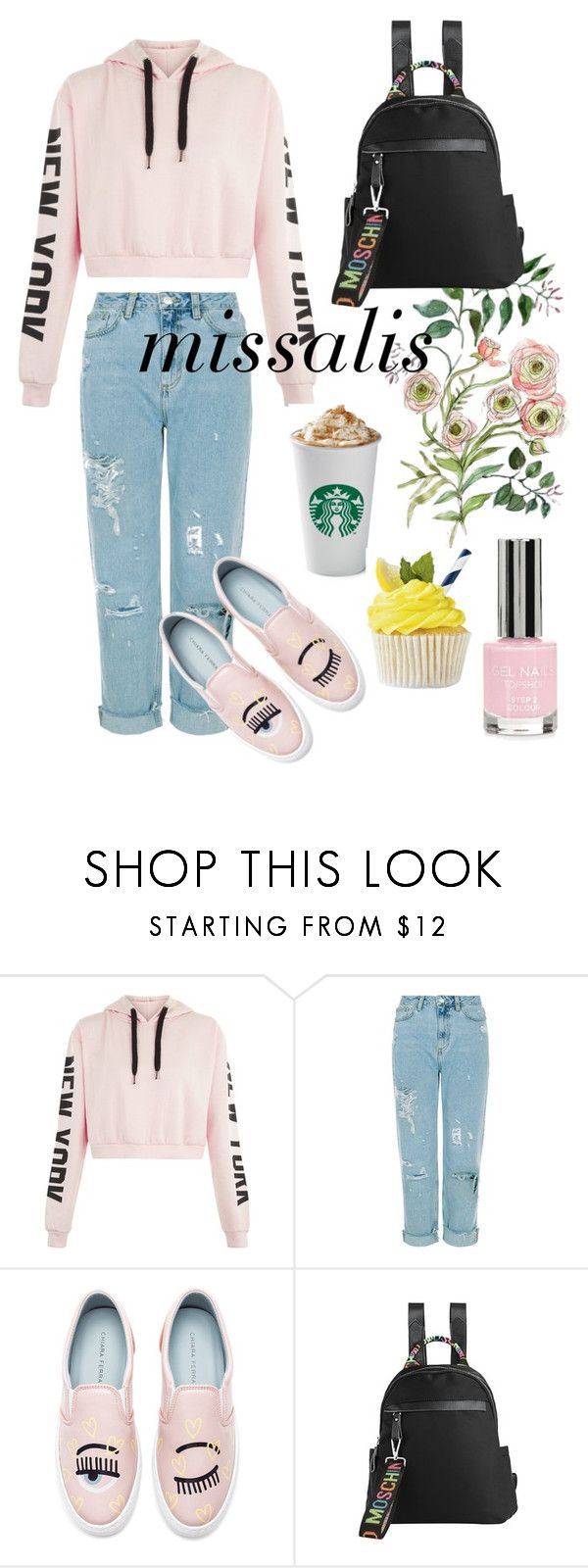 """""""MISSALIS BAGE"""" by wodluckbeens on Polyvore featuring Chiara Ferragni, Topshop and fashionWeek"""