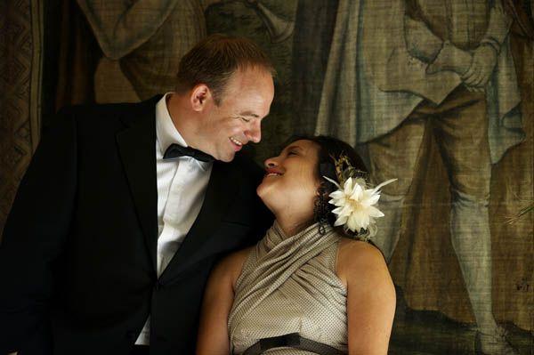 Un matrimonio nella campagna francese con un abito da sposa a pois: Cristina e Nyle