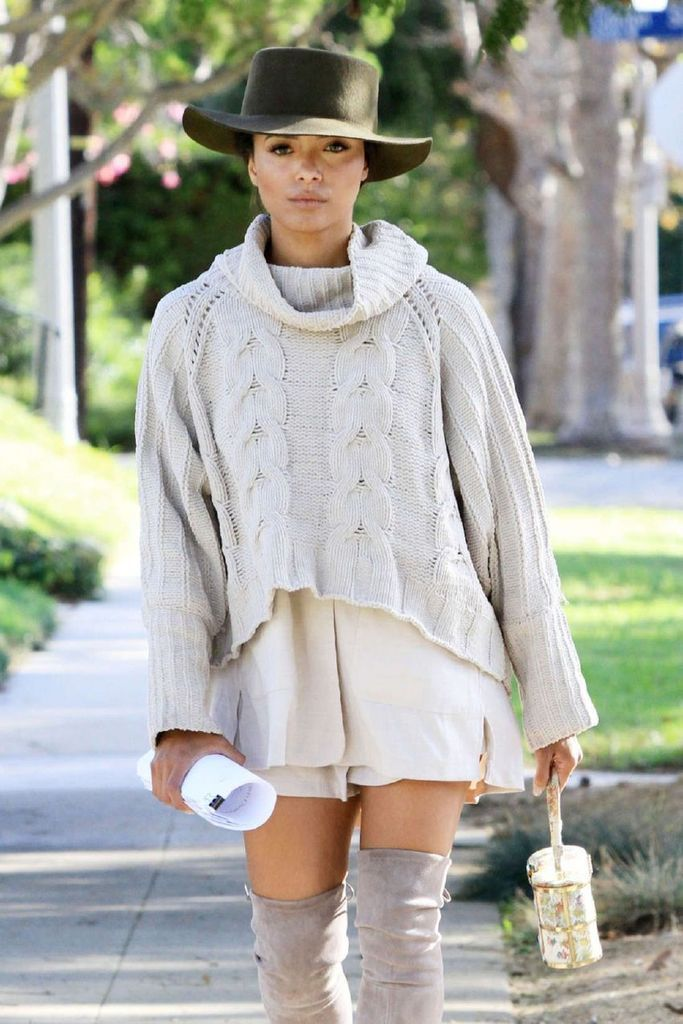 Kat Graham Out and About in Los Angeles : Global Celebrtities (F) FunFunky.com