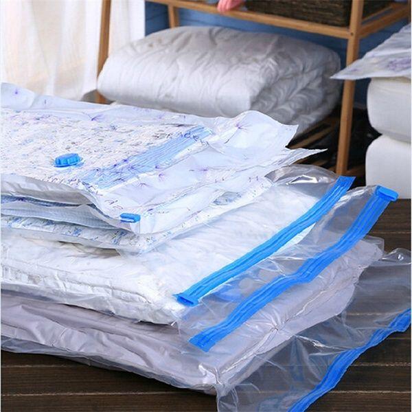 10 Pack Vacuum Storage Bags Saving Space Savers Compressed Seal Bags Large Jumbo