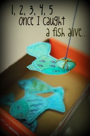 DIY fishing game for kids. and try Tiki Toss, it's great for kids! Playtikitoss.com