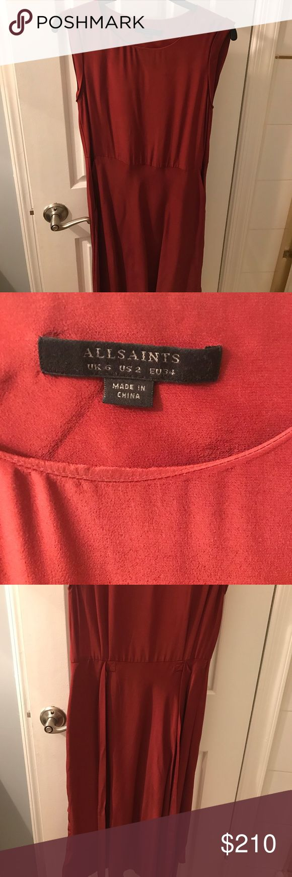 Amazing NWT Allsaints dress Supper cute Allsaints dress NWT size 2 dress! Love this dress but I need to sell a lot of my clothing at the moment! Looking to sell! Not trades!! All Saints Dresses Midi