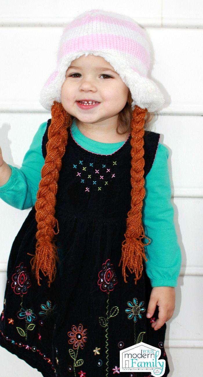 DIY frozen hat  Yourmodernfamily.com