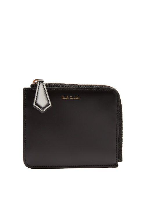 PAUL SMITH Leather coin purse. #paulsmith #purse